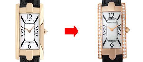 アフターダイヤ加工のビフォー・アフター例2